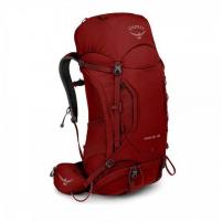 Kuprinė Kestrel 48 Raudona, M/L dydžio nugaros sistema