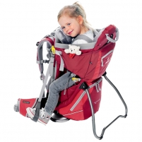 Kuprinė Kid Comfort II cranberry-fire size 16