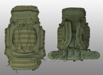 Kuprinė Max Pack 85L zielony Texar