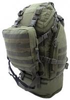 Kuprinė Overload Backpack CAMO 60L, olive Taktinės, medžioklinės kuprinės