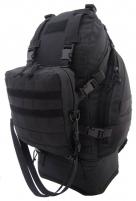 Kuprinė Overload Backpack CAMO 60L juoda Tactical mugursomas