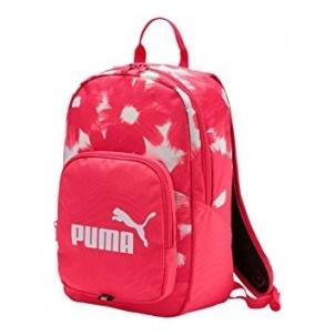 Kuprinė PUMA PHASE SMALL 07410424, rožinė / balta