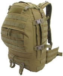 Kuprinė taktinė Cargo Backpack CAMO Military Gear 32L Coyote