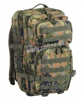 Kuprinė US ASSAULT PACK 36L Flecktarn Tactical backpacks