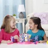 Kūrybinis rinkinys E1950 Play-Doh HASBRO Canterlot Court my_little_pony Arts & Crafts Lavinimo žaislai