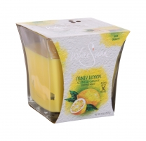 Kvapni žvakė White Swan Minty Lemon Scented Candle 283,5g Kvapai namams