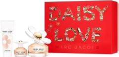 Kvepalų rinkinys Marc Jacobs Daisy Love EDT 100 ml + kūno kremas 75 ml + EDT 4 ml Kvepalų ir kosmetikos rinkiniai