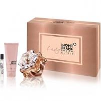 Kvepalų rinkinys Mont Blanc Lady Emblem Elixir EDP 100 ml + kūno kremas 100 ml + EDP 7,5 ml Kvepalų ir kosmetikos rinkiniai