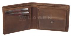Lagen Piniginė Brown 1998/V Wallets/cases