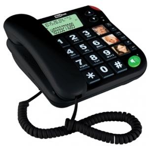 Laidinis telefonas MaxCom KXT480BB juodas Laidiniai telefonai