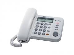Laidinis telefonas Panasonic KX-TS560EX1W bianco Laidiniai telefonai