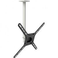 "Laikiklis Barkan Flat/ Curved TV Ceiling Mount 3500 Ceiling mount, Full motion, 29-63 "", Maximum weight (capacity) 40 kg, Black TV stovai, laikikliai"