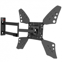 "Laikiklis Barkan Flat/ Curved TV Wall Mount 3400L Wall Mount, Full motion, 40-70 "", Maximum weight (capacity) 40 kg, Black TV stovai, laikikliai"
