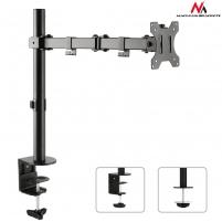 Laikiklis Maclean MC-753 Monitor desk braket 13-32 8kg vesa 75x75, 100x100 duble arm TV stovai, laikikliai