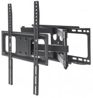 Laikiklis Manhattan TV LCD/LED/PDP 32-55 40 kg sieninis laikiklis, reguliuojamas, juodas
