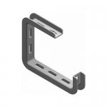 Laikiklis metaliniam kanalui universalus (lubinis/sieninis) 50mm, BAKS WSS