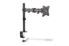 Laikiklis Monitor Stand, 1xLCD, max. 27, max. load 8kg, adjustable and rotated 360°