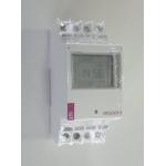 Laiko rėlė (laikmatis) modulinis skaitmeninis, 2P, 16A, su LCD, 2 kanalų, ETICLOCK-2 ETI 02472012