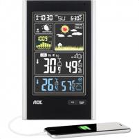 Laikrodis ADE Weather Station WS 1600 Interjero laikrodžiai, metereologinės stotelės