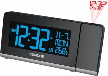 Laikrodis Alarm clock with projector SENCOR SDC 8200