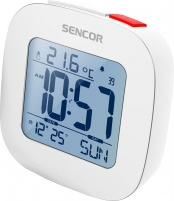 Laikrodis Alarm clock with thermometer SENCOR SDC 1200 W