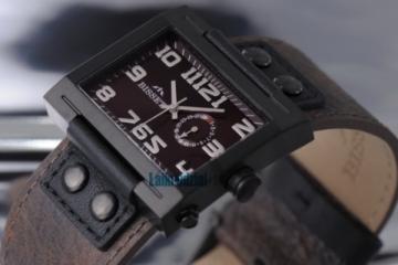 Laikrodis BISSET Tramelan BS25B51 MB BK BR