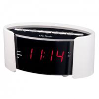Laikrodis ClipSonic PLL FM alarm clock AR306B White, Alarm function, Interjero laikrodžiai