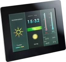 Laikrodis Intenso 8 Weather Star 3919800 Interjero laikrodžiai, metereologinės stotelės