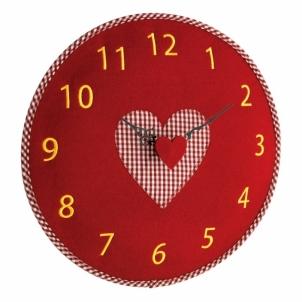 Laikrodis iš veltinio Interjero laikrodžiai, metereologinės stotelės