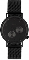Laikrodis Komono WaltherMesh Black KOM-W4021