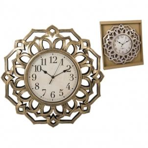 Laikrodis metalinis, sieninis 45cm Interjero laikrodžiai, metereologinės stotelės