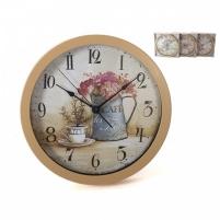 Laikrodis plastikinis sieninis 30cm BOTANIC Interjero laikrodžiai, metereologinės stotelės