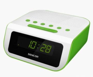Laikrodis Radio alarm clock SENCOR SRC 135 Interjero laikrodžiai