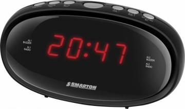 Laikrodis Radio Alarm Clock SMARTON SM 900 Interjero laikrodžiai