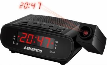 Laikrodis Radio Alarm Clock SMARTON SM 970 Interjero laikrodžiai