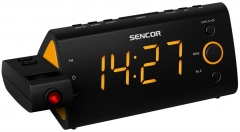 Laikrodis Radio Alarm Clock with Projector SENCOR SRC 330 OR