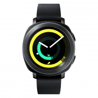 Laikrodis Samsung Gear Sport Black Išmanieji laikrodžiai ir apyrankės
