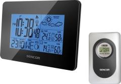 Laikrodis Sencor Meteostanice SWS 51 B černá Interjero laikrodžiai, metereologinės stotelės