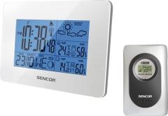 Laikrodis Sencor Meteostanice SWS 51 W bílá Interjero laikrodžiai, metereologinės stotelės