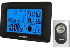 Laikrodis Sencor Meteostanice SWS 65 Interjero laikrodžiai