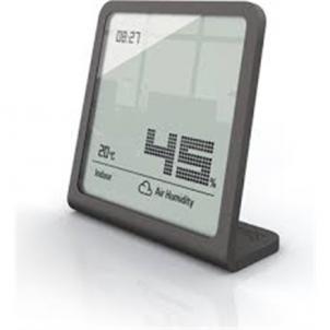 Laikrodis Stadler form Hydrometer, Black Interjero laikrodžiai, metereologinės stotelės