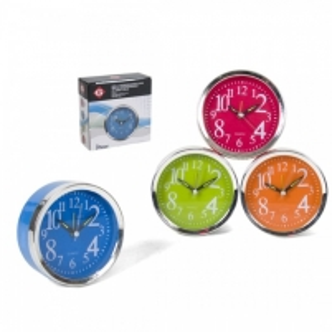 Laikrodis stalinis-žadintuvas 10cm LUKA Interjero laikrodžiai, metereologinės stotelės