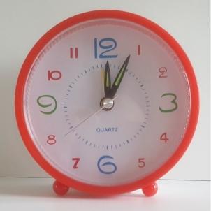 Laikrodis stalinis-žadintuvas 10cm NGV0504 Interjero laikrodžiai