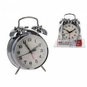 Laikrodis stalinis-žadintuvas 16cm Interjero laikrodžiai, metereologinės stotelės