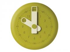 Laikrodis ViceVersa present clock 32cm green 15011