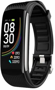 Laikrodis Wotchi Fitness WT10B - Black Sportiniai laikrodžiai