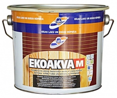 Lakas akrilinis EKOAKVA-M  2.7l Statybiniai lakai