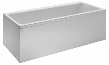 LAUFEN PRO vonia 170x70 cm laisvai statoma,su aliuminiu rėmu, 160 l