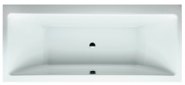 LAUFEN PRO vonia 180x80 cm, įleidžiamas modelis, talpa 225 l In the bathroom