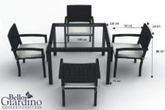 Outdoor furniture set ADORAZIONE Outdoor furniture sets